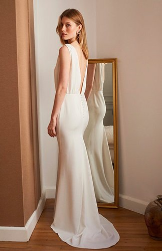 robe de mariée romy collaboration